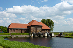 Gemaal A.F. Stroink in waterschap Drents Overijsselse Delta