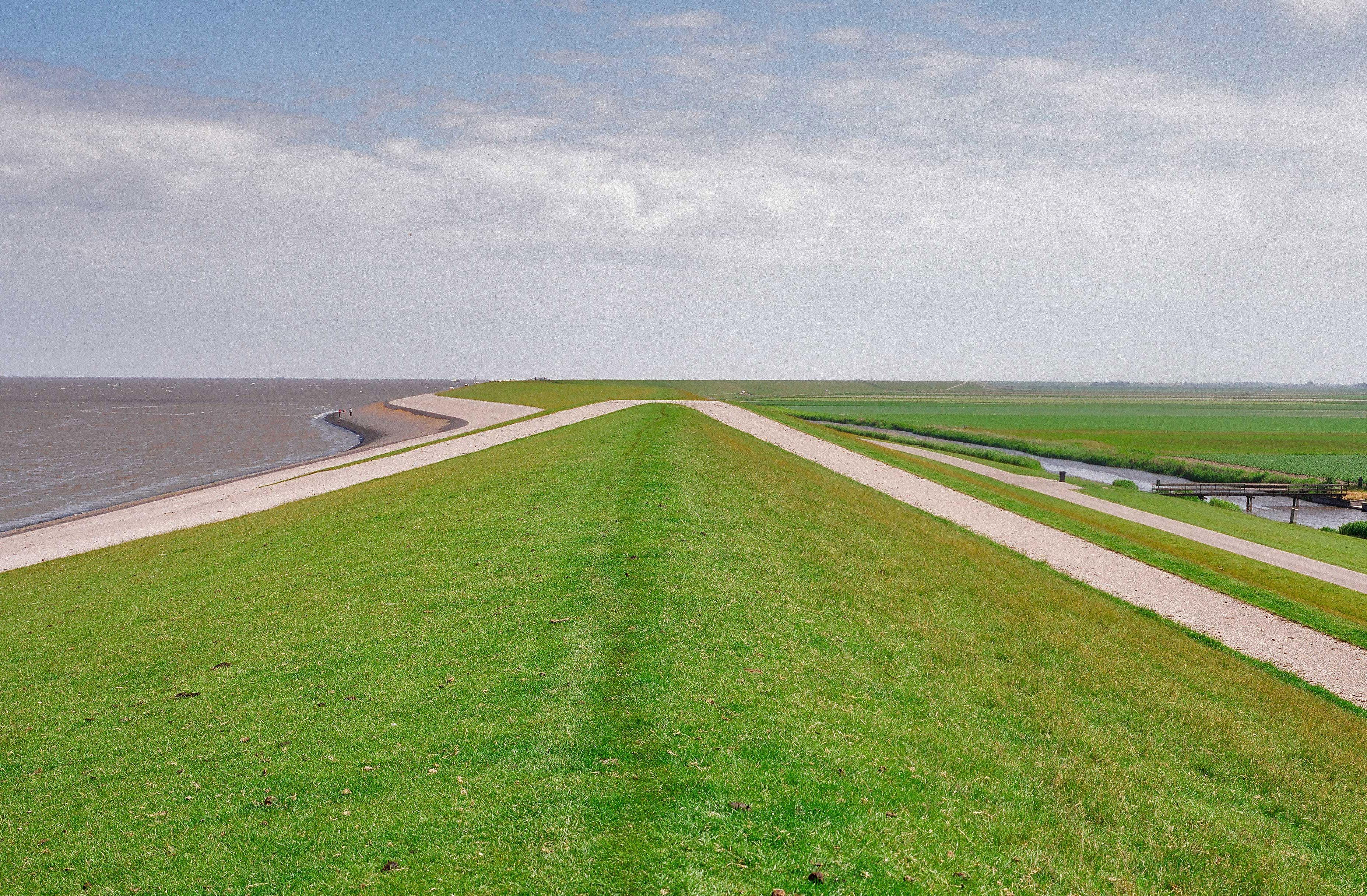 Waddendijk in Friesland