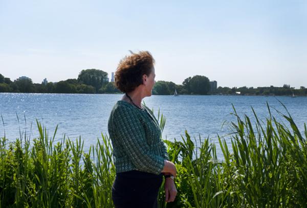 Agnes van Zoelen, bestuurder bij het hoogheemraadschap van Schieland en de Krimpenerwaard