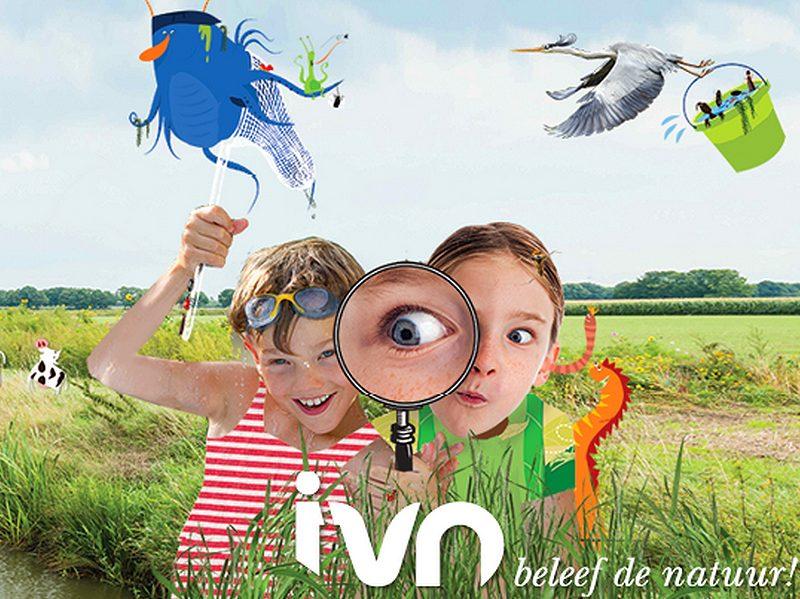 Banner van IVN Slootjesdagen