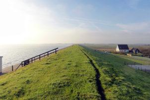 Waddenzeedijk Texel, hoogheemraadschap Hollands Noorderkwartier