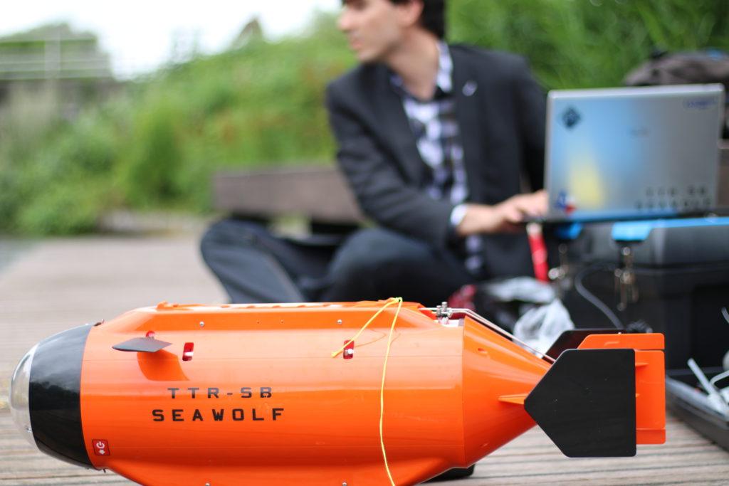 Onderwaterdrones van Wetterskip Fryslân