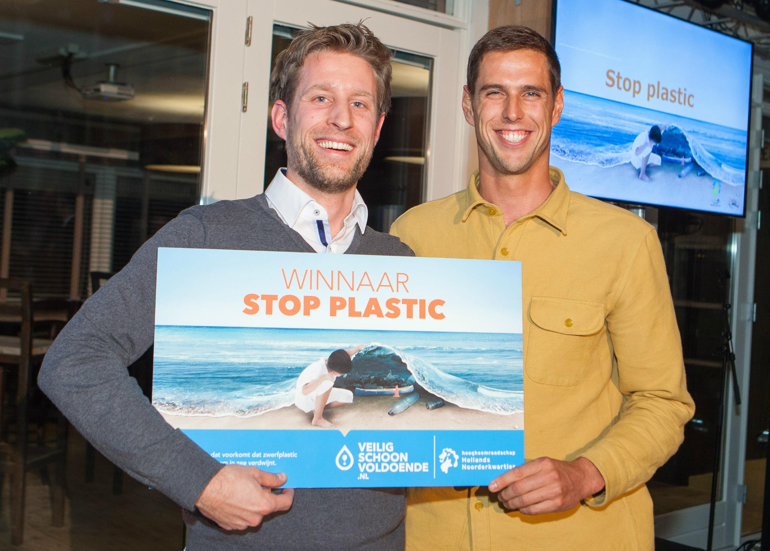 Winnaar van de Stop Plastic-actie