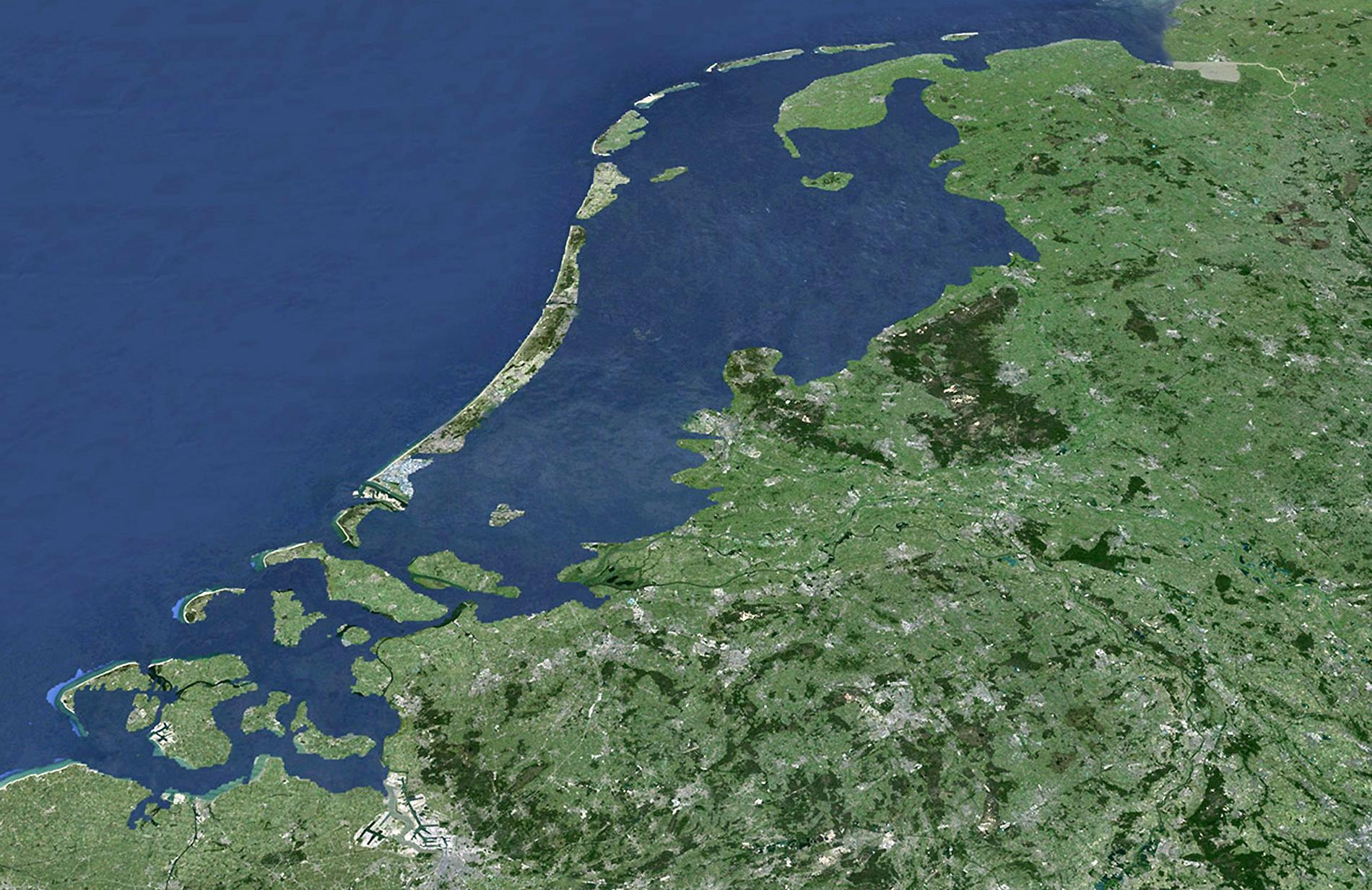 Nederland onder water